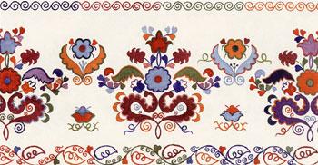Татарская вышивка полотенца