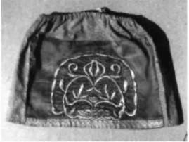 Салауц кузнецко-хвалынских мишарей. Золотное шитье