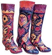татарские сапожки