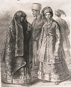 Старинная татарская одежда