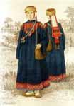 Татарская народная женская одежда