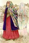 Старинная татарская женская одежда